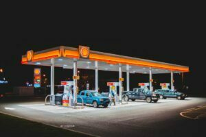 Shell Gas Station at Night - Credit: Erik Mclean from Unsplash