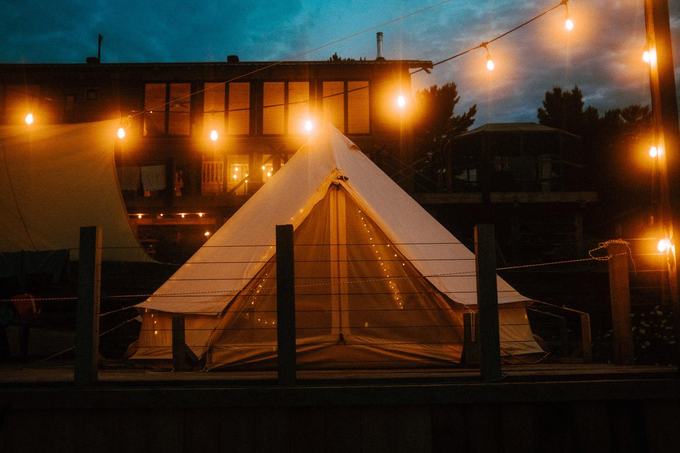 Pine Falls Lodge Review – An Under-the-Radar Luxury Glamping Tent Experience
