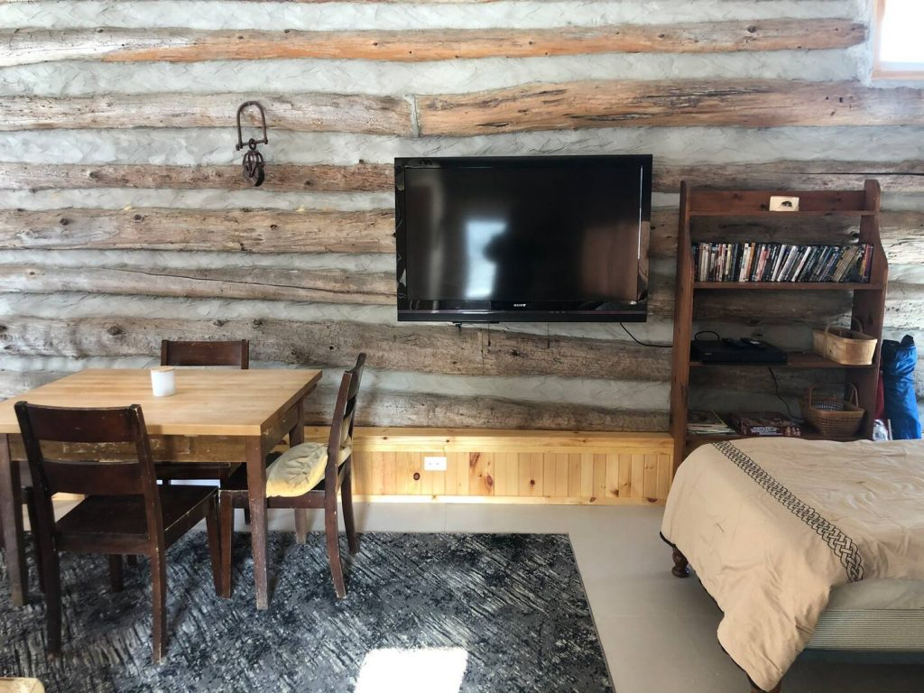 Humble Ranch - Living Area with TV